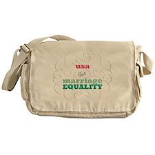 Usa for Equality Messenger Bag
