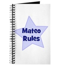 Mateo Rules Journal
