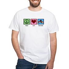 Peace Love Chocolates Shirt