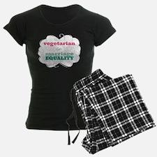 Vegetarian for Equality Pajamas