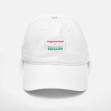 Vegetarian for Equality Baseball Baseball Baseball Cap