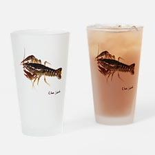 crayfish 1 sig Drinking Glass