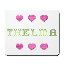 Thelma Cross Stitch Mousepad
