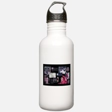 Classic Masked Ball Collage Water Bottle