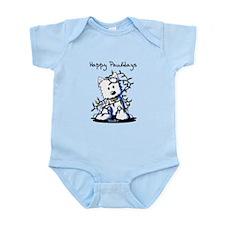 DeLighted Westie Infant Bodysuit