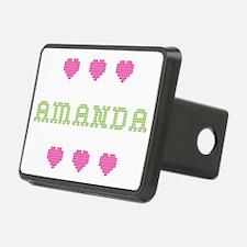 Amanda Cross Stitch Hitch Cover