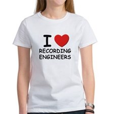 I love recording engineers Tee