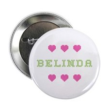 Belinda Cross Stitch Button