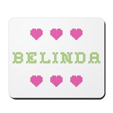 Belinda Cross Stitch Mousepad