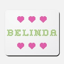 Belinda Cross Stitch Mousepad