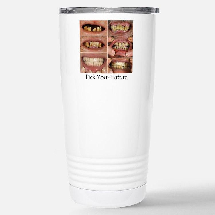 Cute Bad breath Travel Mug