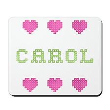 Carol Cross Stitch Mousepad