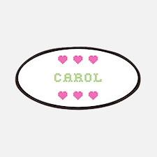 Carol Cross Stitch Patch
