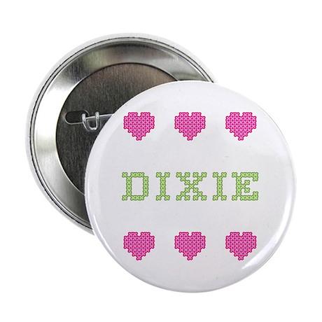 Dixie Cross Stitch Button