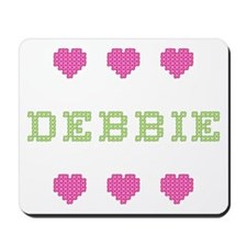 Debbie Cross Stitch Mousepad