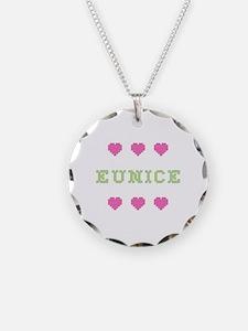Eunice Cross Stitch Necklace