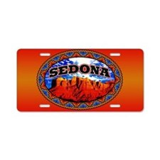 Sedona Navajo Sky Aluminum License Plate