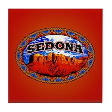 Sedona Navajo Sky Tile Coaster