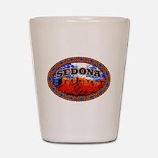 Sedona Navajo Sky Shot Glass