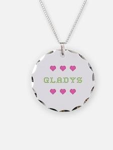 Gladys Cross Stitch Necklace