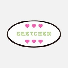 Gretchen Cross Stitch Patch