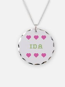 Ida Cross Stitch Necklace