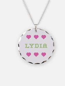 Lydia Cross Stitch Necklace