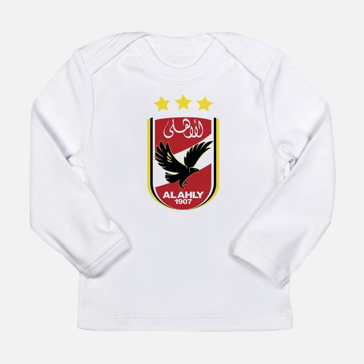 Al Ahly SC Long Sleeve Infant T-Shirt