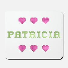 Patricia Cross Stitch Mousepad