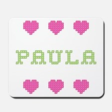 Paula Cross Stitch Mousepad