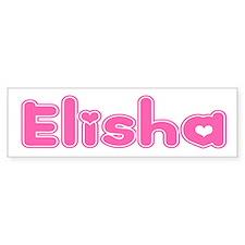 """""""Elisha"""" Bumper Bumper Sticker"""