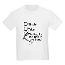 Waiting for boy in band T-Shirt