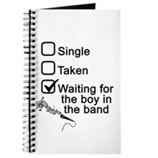 Waiting for boy in band Journal
