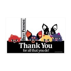 Thank You Wall Decal