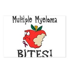 Multiple Myeloma Bites Postcards (Package of 8)