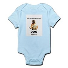 """Tell Me You Aren't A DOG Person"" Cat Infant Bodys"