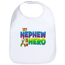 My Nephew Is My Hero Bib