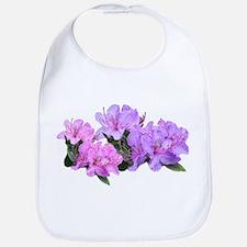 Purple azalea flowers Bib