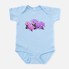 Purple azalea flowers Body Suit