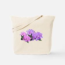 Purple azalea flowers Tote Bag