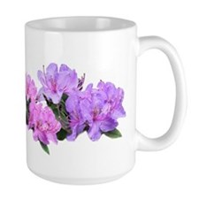 Purple azalea flowers Mug