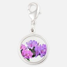 Purple azalea flowers Charms