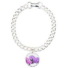 Purple azalea flowers Bracelet