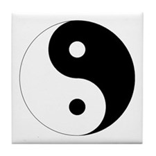 Tai Chi Yin Yang Tile Coaster