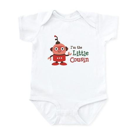 Little Cousin - Retro Robot Infant Bodysuit