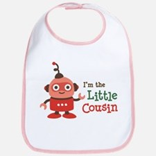 Little Cousin - Retro Robot Bib