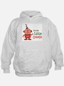 Little Cousin - Retro Robot Hoodie