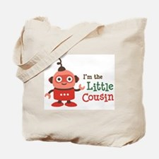Little Cousin - Retro Robot Tote Bag