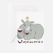 Winoceros Greeting Card