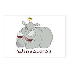 Winoceros Postcards (Package of 8)
